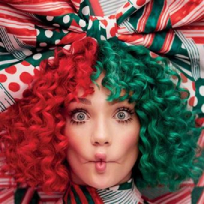 Sia - pochette album everyday is christmas