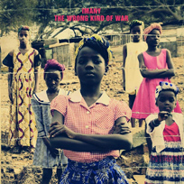 Imany pochette album the wrong kind of war