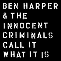 Ben Harper - pochette album call it what it is