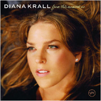 Diana Krall - pochette album from this moment on