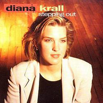 Diana Krall - pochette album stepping out